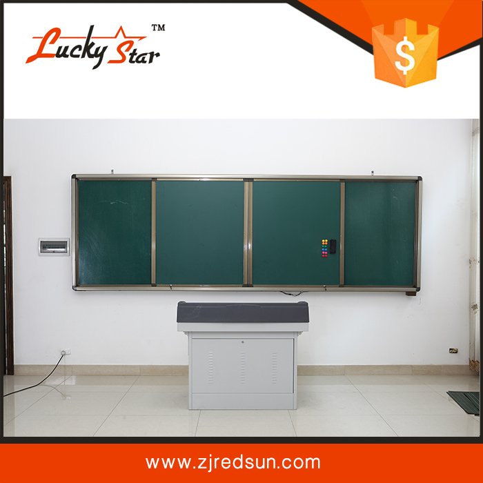 High Quality wall Hang flexible Sliding magnetic Writing Whiteboard For Clssroom Wall