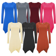Fashion Womens Loose Pullover T Shirt Long Sleeve Cotton Tops Shirt Blouse
