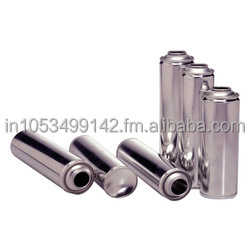Tin Plate Aerosol Cans and Valves