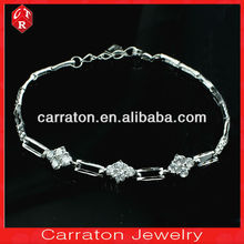 Wholesale alibaba high polished sterling silver women hand bracelet