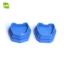 Dental silicone impression tray