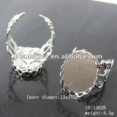 jewelry blank ring base rings for jewellry design