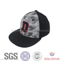 SGS ISO certificate snapback cap with logo