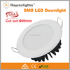 CE &SAA Approved EPISTAR 5630 SMD DIMMABLE 12W LED DOWNLIGHT 120degree