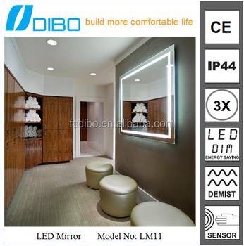 Modern high sales bathroom series LED chinese bathroom reflective mirror