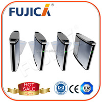 Durable security turnstile gate for shopping mall