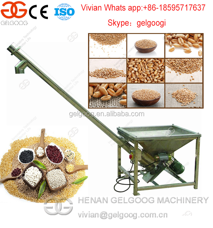 Professional commercial food grain Screw feeder