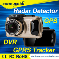 3 inch Car Dvr Full HD 1080P radar detector & car video recorder & gps tracker & wifi