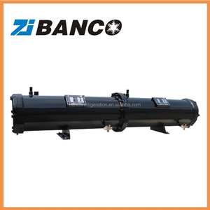 Air conditioner shell and tube condenser, refrigeration water cooled condenser