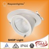 3years warranty Epistar chip 30w dimmable cob led downlight