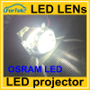 car lighting accessories LED Bi-Xenon HID projector lens replacement car led headlight