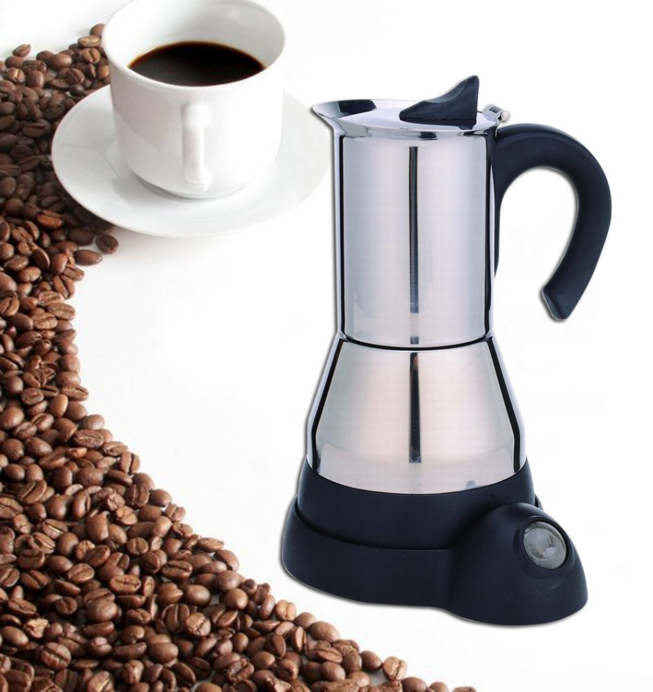 2014 hot sale electric espresso moka coffee maker
