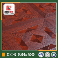 Class33 Anti-slip Hdf Commercial Laminated Flooring