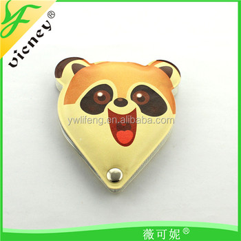 Dog Form Kawaii Make-up Mirror for Souvenir / Leather Circle Little Mirror