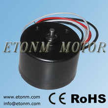 12 V brushless dc motor sin escobillas 50 W
