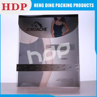 customized recyclable clear pvc bra packaging box