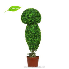 GNW BX1033 Chinese Market Wholesale Green Man-made Plants Decorated With Family And Wedding Parties