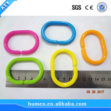 colored plastic opening circles snap ring