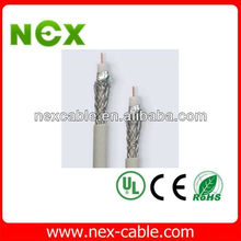 3c-2v coaxial cable +tv connectors