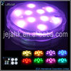 RGB Submersible LED Lights Battery Powered LED Accent Lights wiith IR Remote