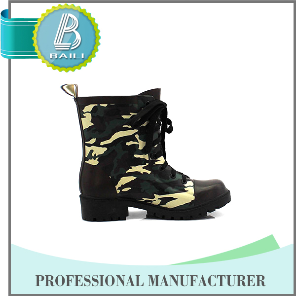 2016 High quality Camo working boots men
