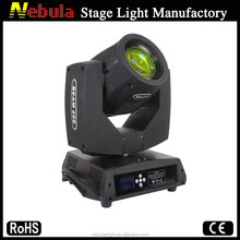 Fast rotation Stage Moving Head Light sharpy beam 200
