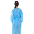New design non woven isolation gown hospital patient surgical gowns