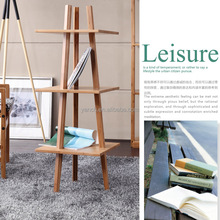 Home delicate Bamboo Literature display rack