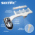 J1006-01 hot and cold water bidet, double nozzles, with stainless steel hose