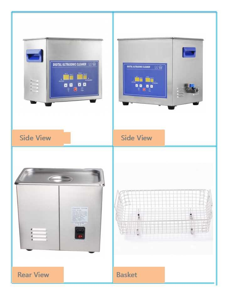 Jeken 10L Digital Ultrasonic Cleaner