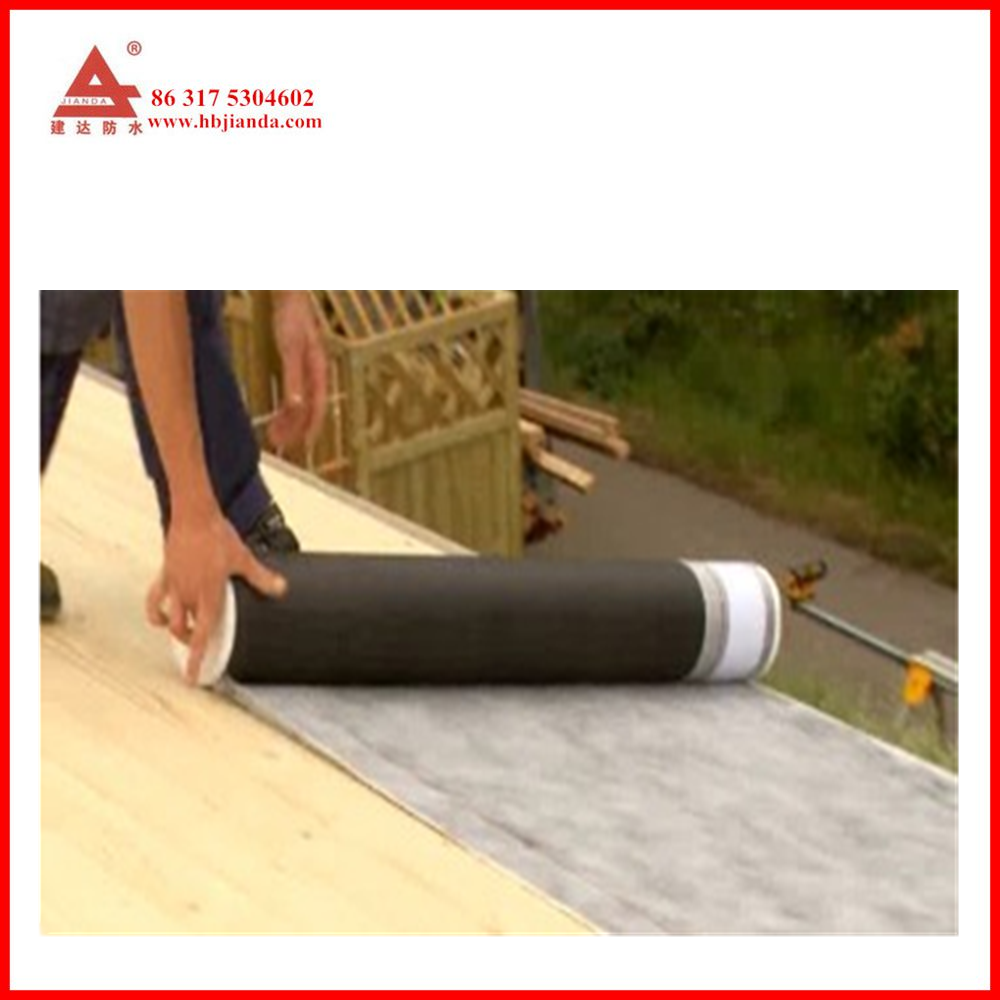 antiskid supertak YEP 700 roofing felt non-woven fabrics underlayment for slope roof