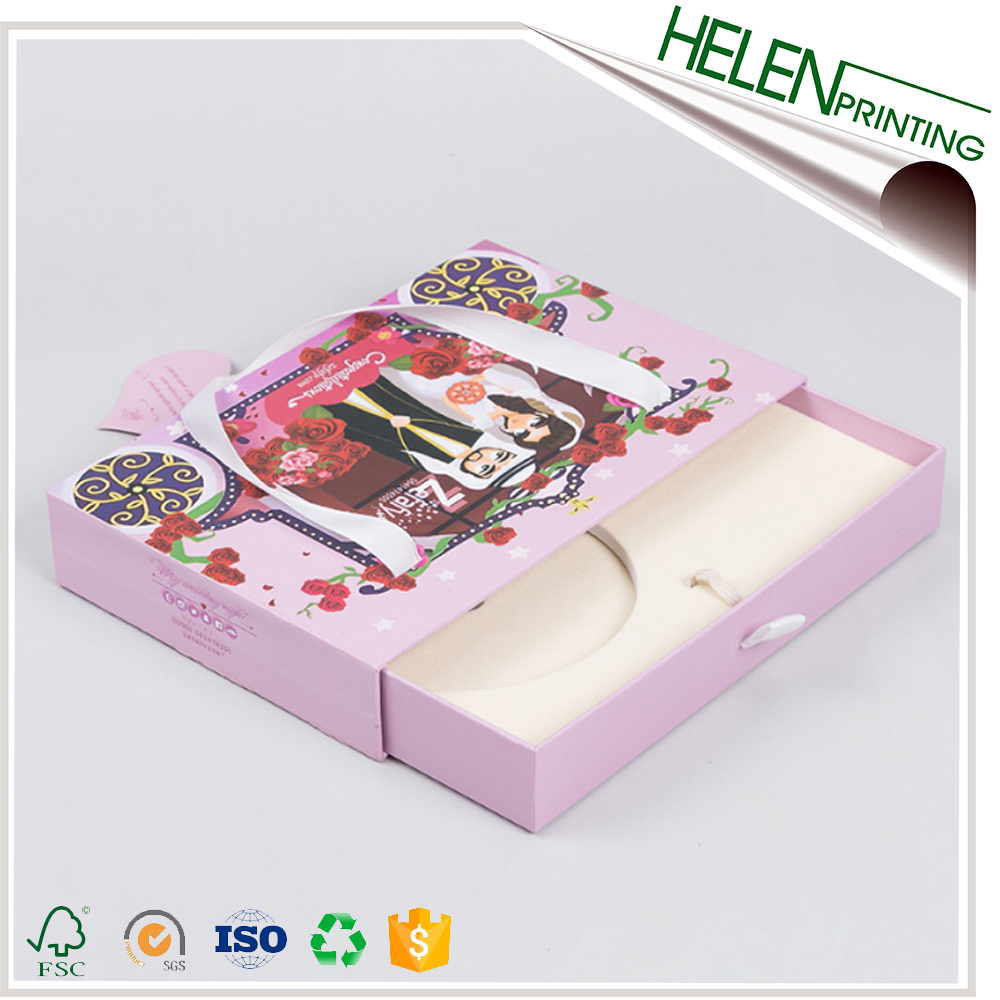 Hot sale popular packaging paper custom dvd box set