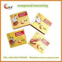 4g 10g FDA Kosher Halal seasoning cube/powder factory