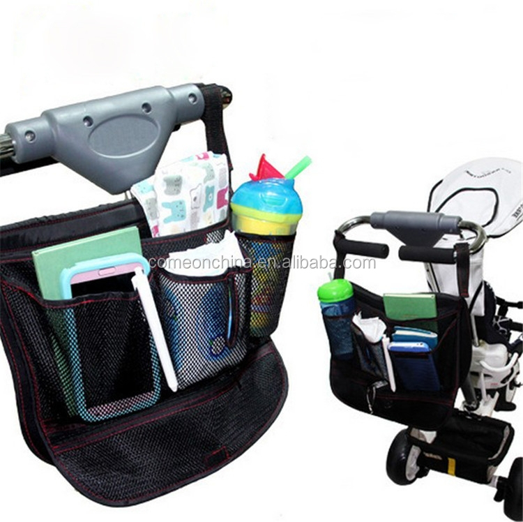 Multifunctional baby stroller diaper storage hanging Bag