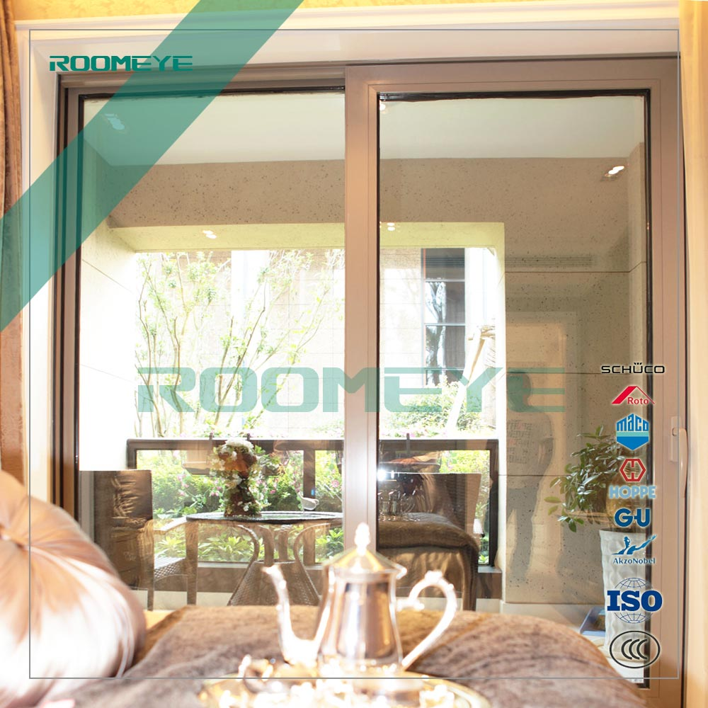 Aluminium vertical sliding window sash window and double hung windows for home