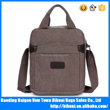 Made China Wholesale High quality of men's daily canvas sport casual handbag and Cross Body Bag