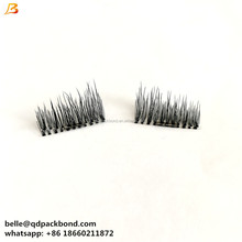 wholesale price Eyelash Extension hard magnetic eyelashes synthetic ultra thin magnet lashes
