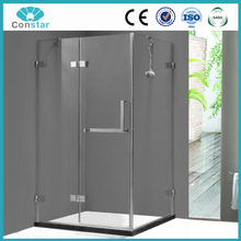 ISO9001 Frameless high quality toilet paper high quality toilet paper sliding glass shower enclose