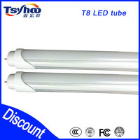 2015 UL warm white t8 led light tube 60cm fluorescent lamp 360 degree t8 led light tube