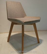 office reception simple wood chair made in Foshan