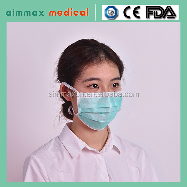 OEM cheap earloop face mask,non-woven high quality medical face mask/ 2/3/4 ply dust mask for outdoors