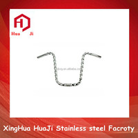 Stainless steel twisted squared bar