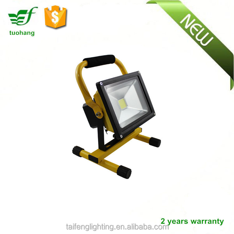 quality guarantee led flood lights led rechargeable floodlight for emergency working Light 10W 20W 30W 50W