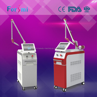 best laser q-switched nd yag laser tattoo removal machine spot size 0.7-8mm adjustable