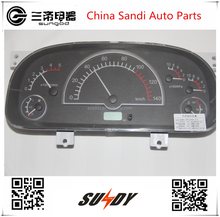 24V Dongfeng trucks dashboard panel assy and auto lens <strong>meter</strong> 3801DA04-010