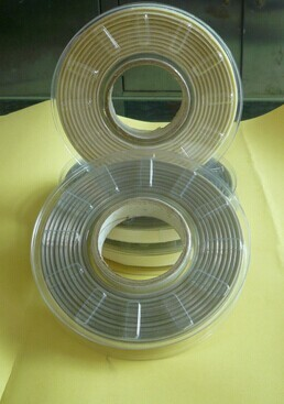 Strong self adhesive steel wire trim PET tape with release paper