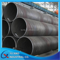 SSAW WATER PIPE LINE / SPIRAL WELDED STEEL PIPE SUPPLIER