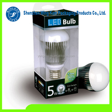 Plastic LED Bulb Boxes Printed Packaging