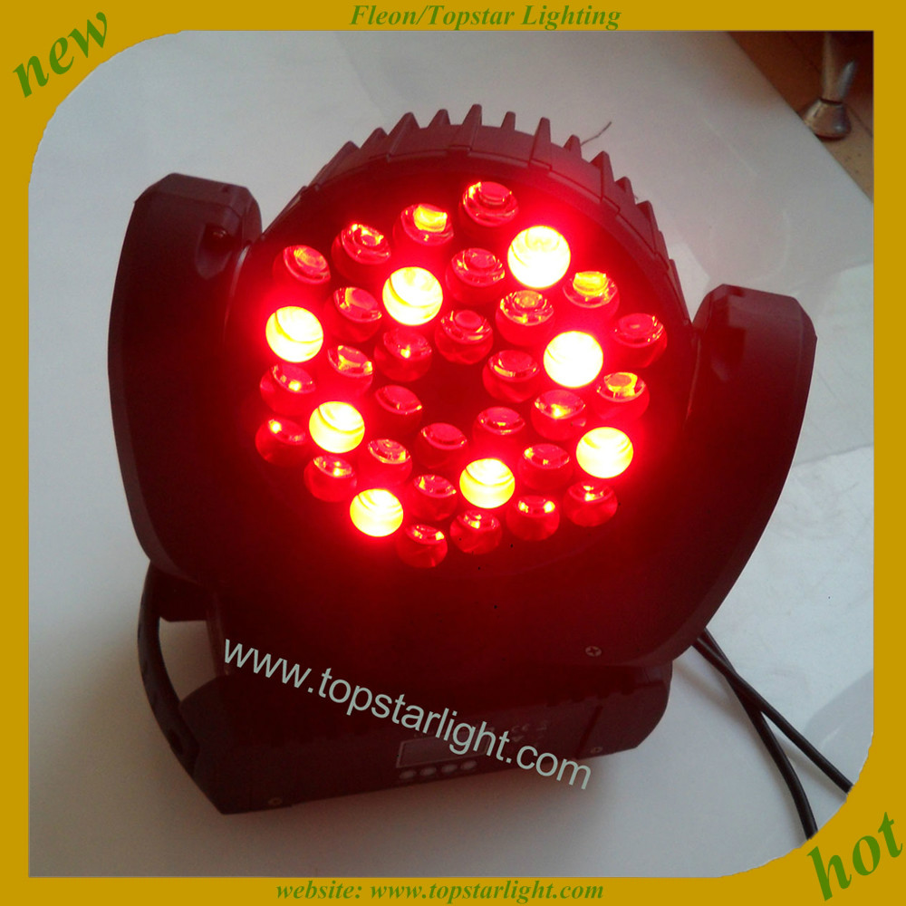 (TSA016A) Christmas Promotion cheap stage lighting equipment 36*<strong>3w</strong> RGBW beam light mini <strong>led</strong> moving head