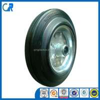 Qingdao manufacturer heavy duty 8 inch cheap solid wheels